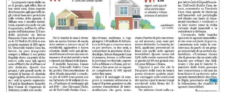 """Fiaip oggi su """"La Stampa"""" e """"Corriere della Sera"""""""
