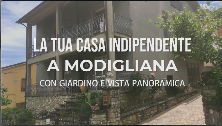 La Tua Casa Indipendente a Modigliana con giardino e vista panoramica
